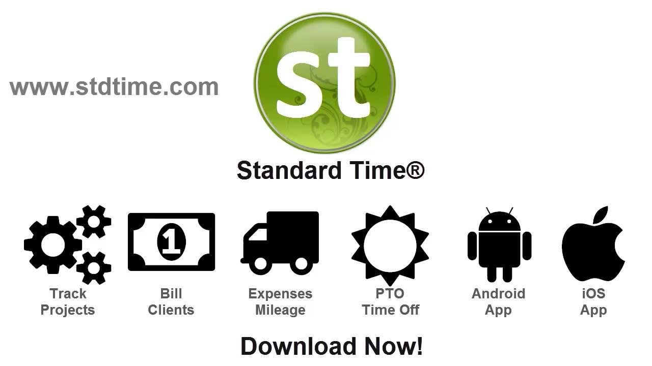 introducing standard time timesheet youtube