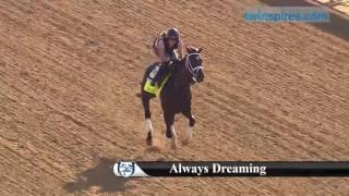 Always Dreaming gallops 4.26