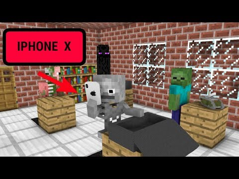 Monster School: Unboxing Iphone X - Minecraft Animation: The mobs doing unboxing in the class  If you enjoy this video  let me know in the comment section below and don't forget to LIKE this video.  - Subscribe for more VIDEOS!!                   My other Animation: https://www.youtube.com/watch?v=MRoJhTLAI4Y&t=52s   Music:  ✔️Teriyaki Boyz - Tokyo Drift (Osias Trap Remix)     Provided by Copyright Free Trap:     https://youtu.be/ejZlOI3azP0  ✔️  Alasen - Abyss  https://www.youtube.com/watch?v=KOOuAdFCFZc   ✔️https://incompetech.com   ~inspired by WillCraft