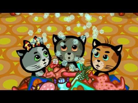 Мультики для малышей - Три котенка - Холодный холодильник (1 сезон | серия 2)