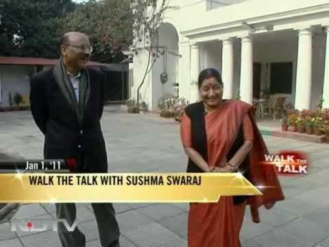 Walk The Talk with Sushma Swaraj