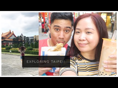 TAIWAN VLOG #6: Shopping & Food Trip in Ximending! 😍 + Free Tour @ CKS Memorial Hall ❤️