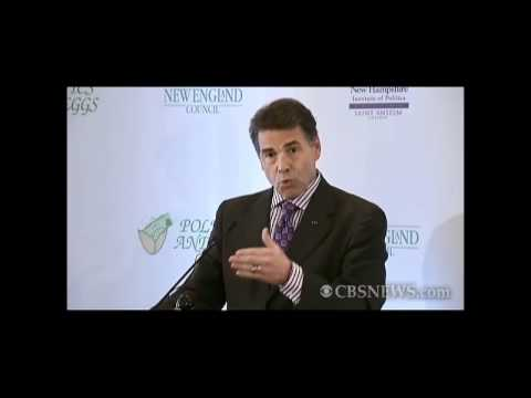 Perry suggests global warming is a hoax