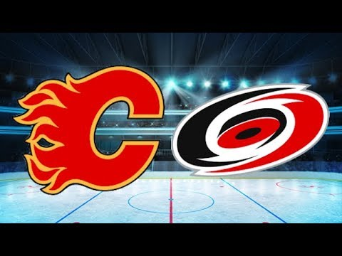 Calgary Flames vs Carolina Hurricanes (4-1) – Jan. 14, 2018 | Game Highlights | NHL 2018
