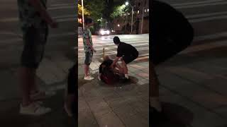Seattle Girl Fight With KICK TO THE HEAD LIVE 5/15/18 BRUTAL BEATING