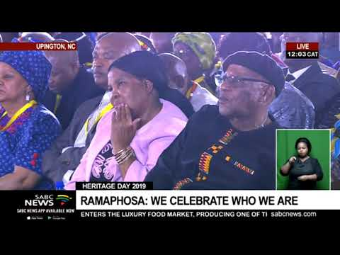 Heritage Day 2019: President Cyril Ramaphosa's speech