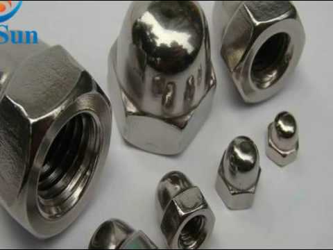 Hot dip galvanized wholesale nuts and bolts