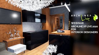 ARCHLine.XP LIVE 2020 for Interior Designers