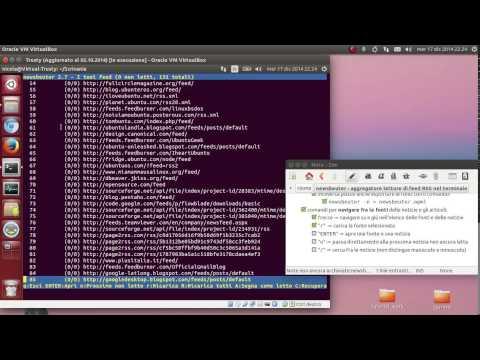 newsbeuter - aggregatore lettore di feed RSS nel terminale