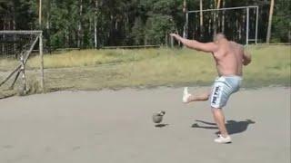 Kettlebell + Football = Kettleball / Богатырский футбол (Серебряков и Кокляев)