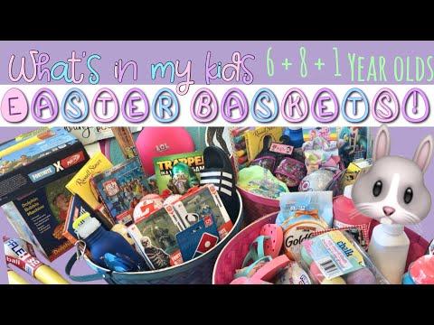 2019 EASTER BASKETS! 🐰 🐣 Tween + Toddler boy + girl LOL Doll + Fortnite Obsessed!