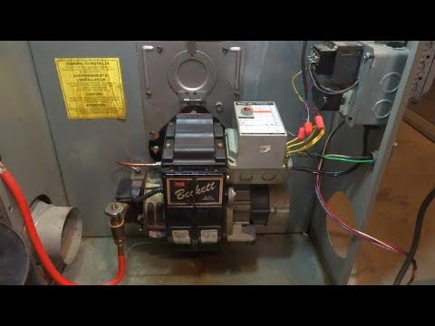 oil furnace with problems fixed