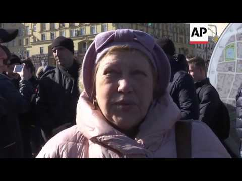 Protest in Moscow against corruption
