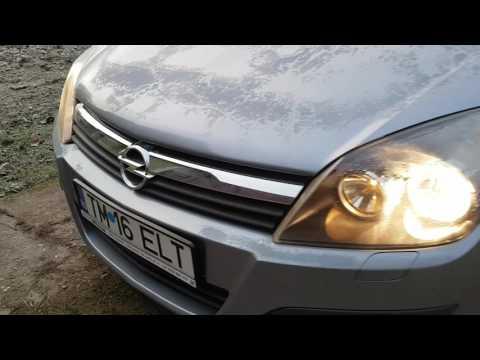 Cold start Opel Astra H 1.4 Benzin  - 4° C