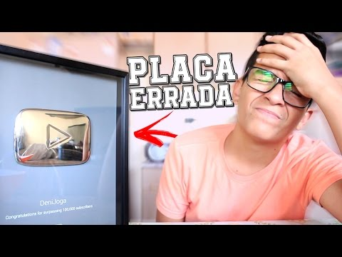 O YOUTUBE MANDOU A PLACA ERRADA!!! | #DeniResponde26