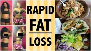 What I Eat in a Day for RAPID *FAT* LOSS pt. 2