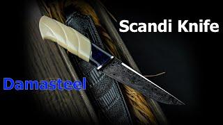 Делаю Скандинавский нож с резьбой | Knifemaking: Scandinavian Knife DIY