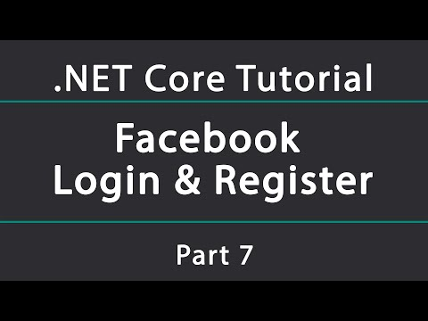 Adding Facebook Authentication In A .NET Core API (Login & Register)