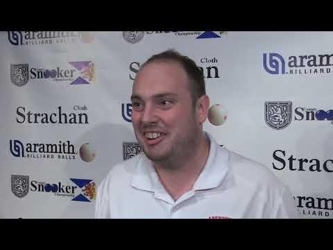 """Michael Van Gerwen"" Visits Scottish County Snooker Championships"