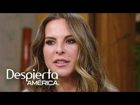 Kate del Castillo quiere que todos sepan lo que pasó cuando conoció a 'El Chapo'