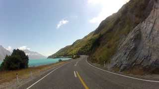New Zealand Scenic Drive - Te Anau - Queenstown - Lake Pukaki & Tekapo