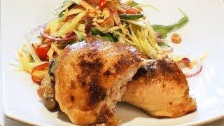 Healthy Chicken Salad Recipe with Green Mango - Marks Cuisine #82