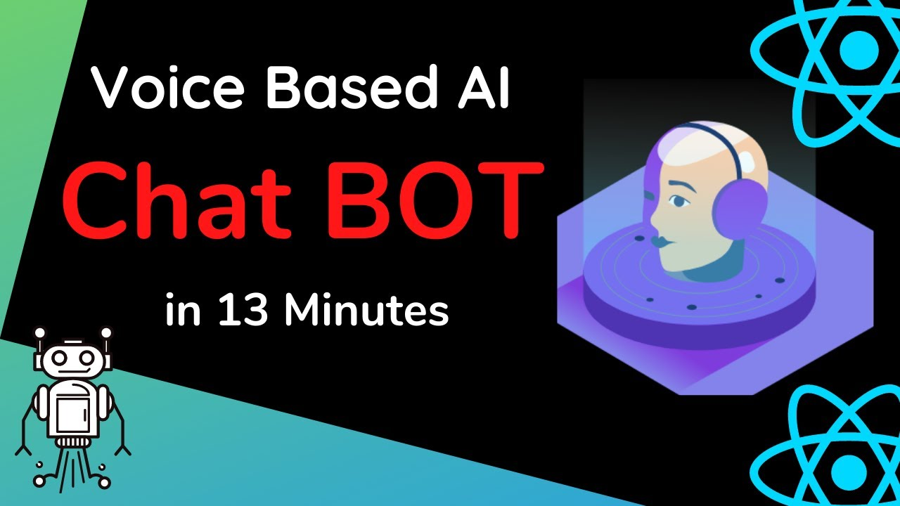 Chat Bot App in REACT in 13 minutes   Voice based AI Project in REACT using Alan Studio AI