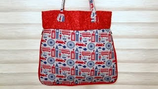 Bolsa e Sacola London – Cursos de bolsas e sacolas em tecidos