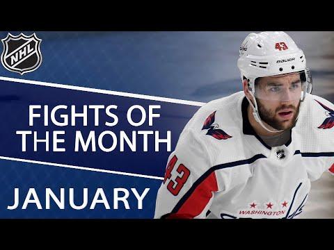 Top NHL fights of January 2019 | NHL | NBC Sports