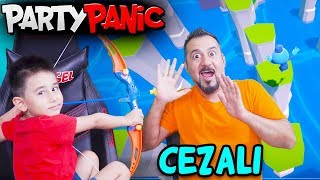 OYUNCAK OK ATMA CEZALI PARTY PANIC! | EGEMEN KAAN İLE PARTY PANIC OYNUYORUZ!