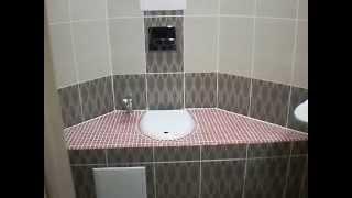 Ремонт совмещённой ванной по ул. Зайцева 6 для особенного человека