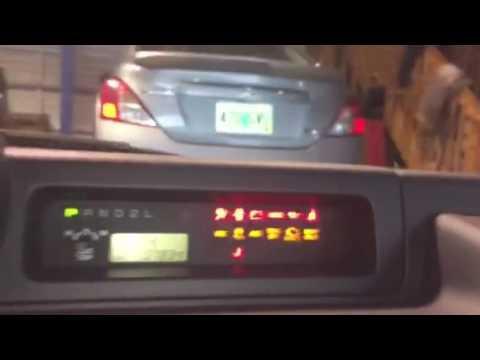 Zero point calibration Lexus & Totota SVC TRAC OFF