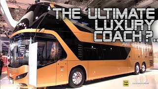 2020 Neoplan Skyliner 76-Seat Double Decker Luxury Coach - Exterior Interior Walkaround