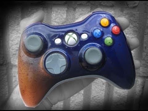 How to Custom Paint an Xbox 360 Controller (Mod)