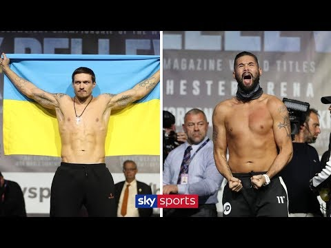 WEIGH IN! Oleksandr Usyk vs Tony Bellew 🥊