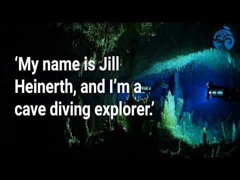 """I am a cave-diving explorer."" 