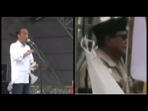 Jokowi Pamerkan Kartu Sakti Di Dumai Riau Kehadiran Prabowo Disambut Sholawat Nabi Lip 27 03