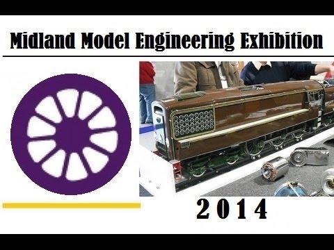 Midland Model Engineering Exhibition 2014 - Live Steam