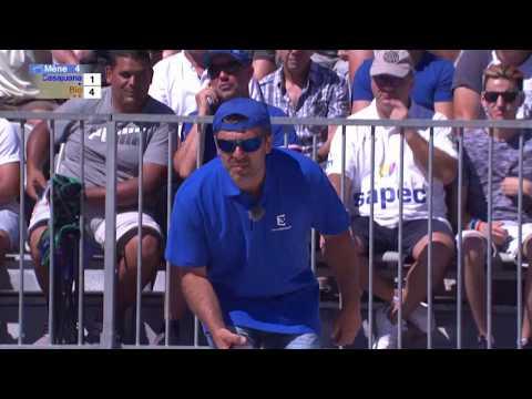 Mondial à Pétanque 2017 à Marseille : Marcel Bio VS Patrice Casajuana 13-9