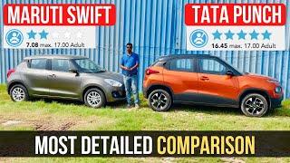 Download Tata Punch Vs Maruti Suzuki Swift - Exclusive Detailed Comparison