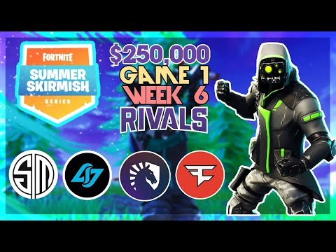 $250,000 🥊Rivals Summer Skirmish🥊 Week 6 Game 1 (Fortnite)