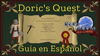 [OSRS] Doric's quest (Español)
