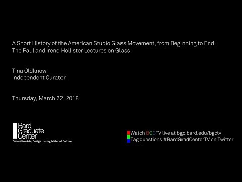 A Short History of the American Studio Glass Movement, from Beginning to End