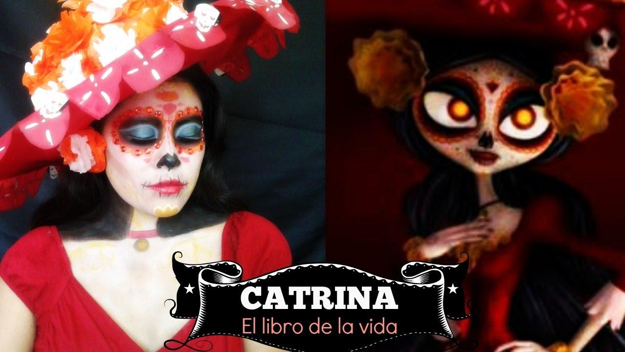 Catrina / Maquillaje Artístico / El Libro De La Vida