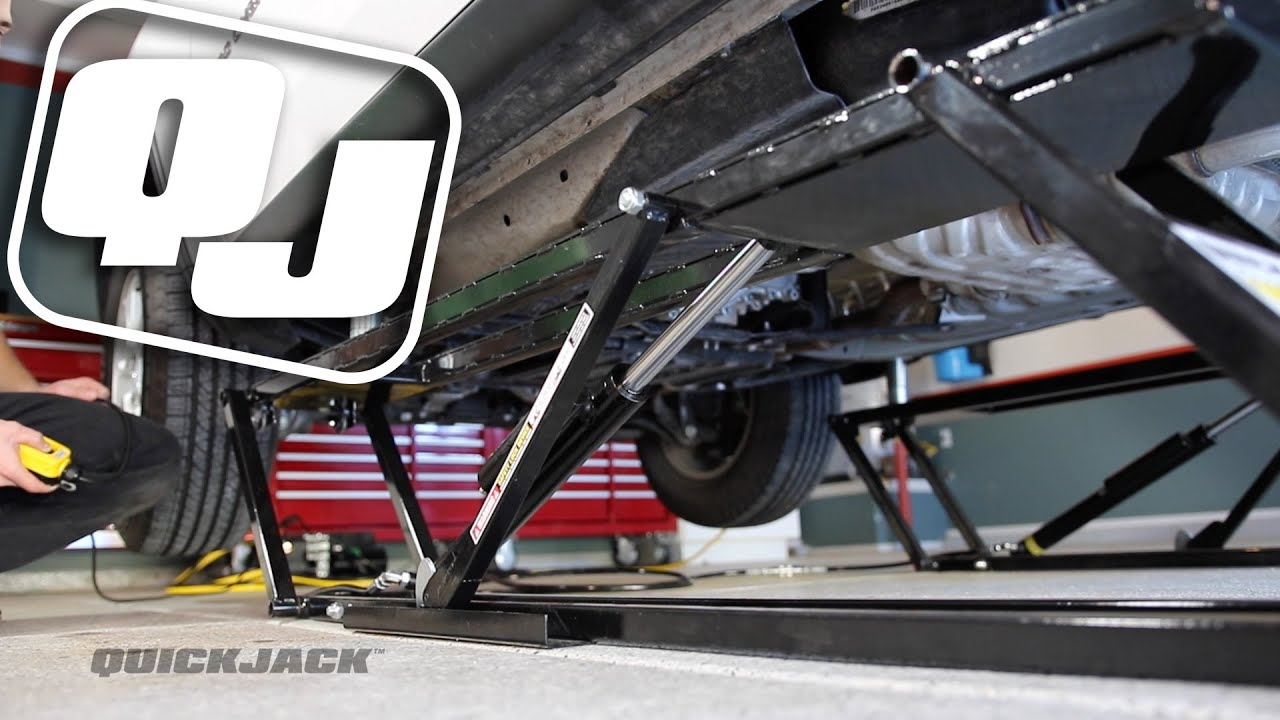 Quickjack Portable Lifting System Is Available At Napa