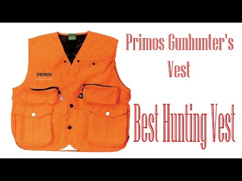 7efdb9b43c362 Primos Gunhunter's Vest - Best Hunting Vest - YouTube