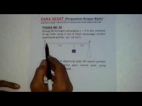 CARA SESAT problem solving fisika
