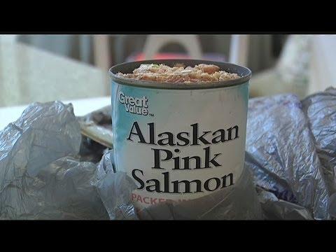 Salmon Has Worms