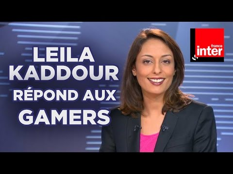 Leïla Kaddour-Boudadi de France Inter répond aux gamers sur Eclypsia