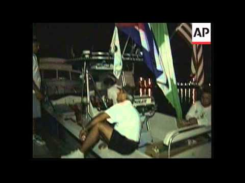 USA: FLORIDA: CUBAN ANNUAL FLOTILLA